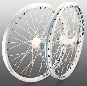 画像1: [SALE] Excess Components Excess 351 Pro Wheelsets(WHITE)