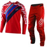 Troy Lee Designs YOUTHSPRINT JERSEY/PANT SET(RED)