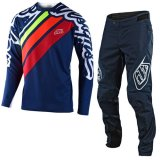 Troy Lee Designs YOUTH SPRINT JERSEY/PANT SET(NAVY)