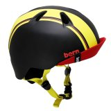 bern NINO BLACK YELLOW RACING STRIPE